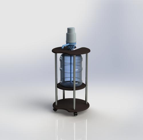 Подставка для 19 литровых бутылей